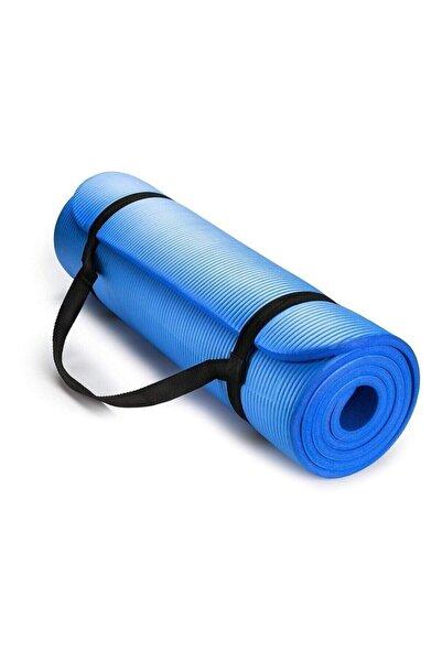 Povit 1,5 Cm Pilates Minderi-pilates Matı 15 Mm Mavi Renk