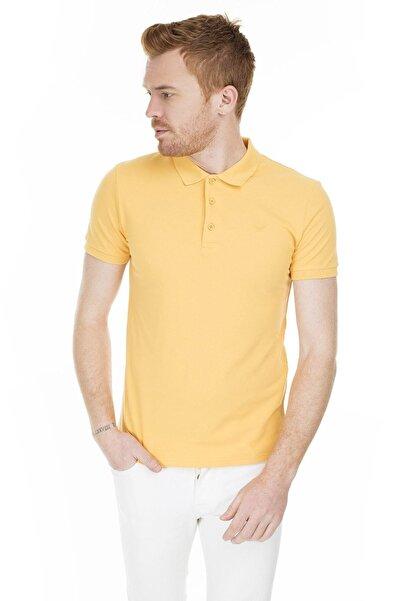 Cazador Erkek Hardal Polo Yaka T-shirt 4613