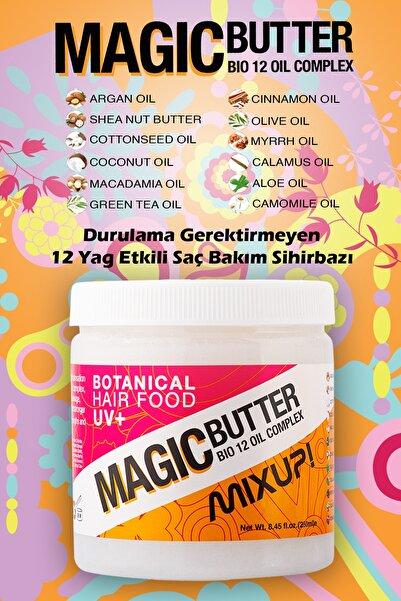 Mixup Magic Butter 12 Yağ Etkili Onarıcı Ve Yapılandırıcı Durulanmayan Saç Bakımı 250 ml