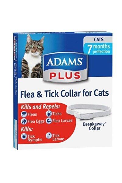 Adams Kedi Pire Ve Kene Tasması 7 Ay Etkili Suya Dayanıklı