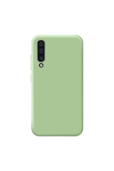 HappyCase Samsung A50 / A30s / A50s Lansman Silikon Kılıf Fıstıkyeşil