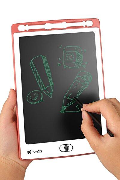 Pure IQ Grafik Digital Çocuk Yazı Çizim Tableti Lcd 8.5 Inc Ekranlı + Bilgisayar Kalemli