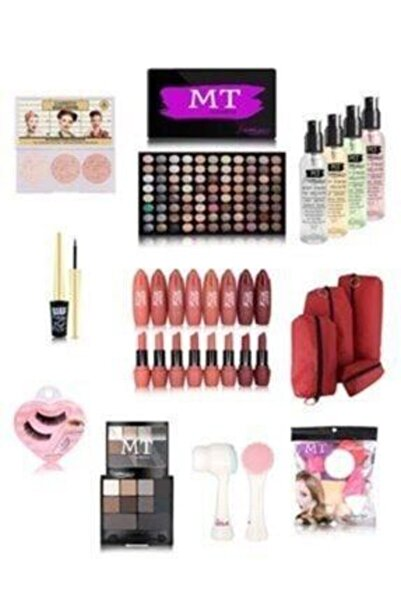 Makeuptime Hediyelik Ekonomik 17 Parça Makyaj Seti
