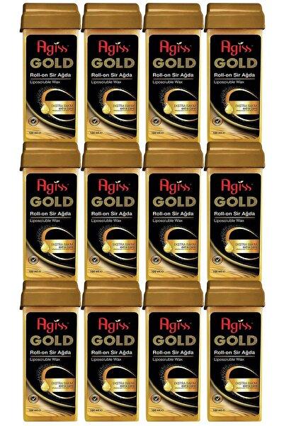 AGISS Roll-on Gold 100 ml x 12 Adet Sir Ağda