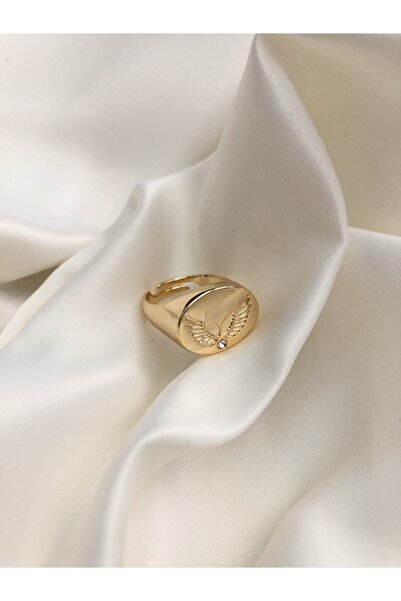 The Y Jewelry Melek Kanadı Yüzük -ayarlanabilir
