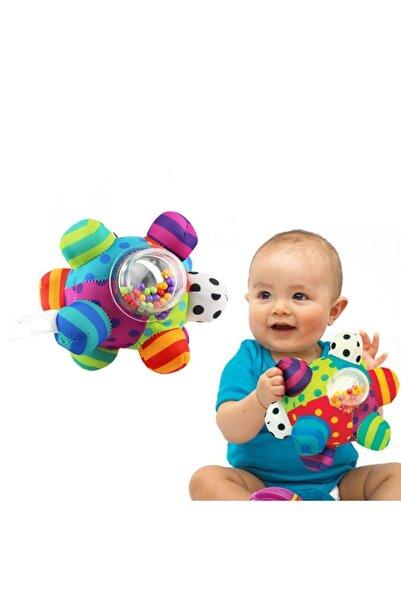 Sozzy Toys Çıngıraklı Renkli Topum