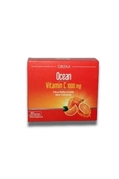 Ocean Orzax Ocean Vitamin C 1000 Mg 30 Şase