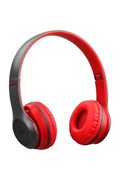 Torima P47 Extra Bass Wireless Bluetooth Kulaklık 5.0+edr Fm Radyo Kırmızı