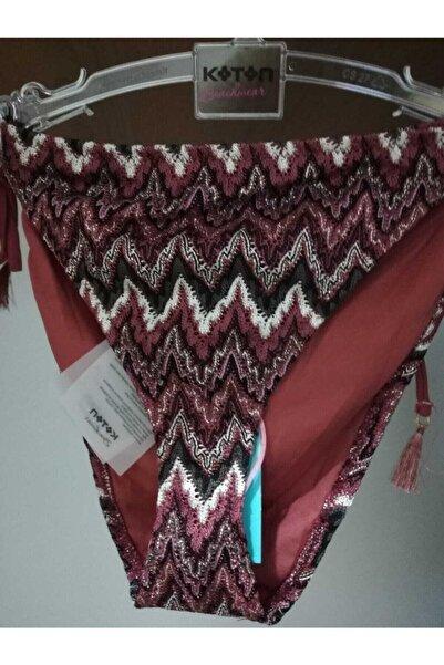 Koton Kiremit Desenli Bikini Altı