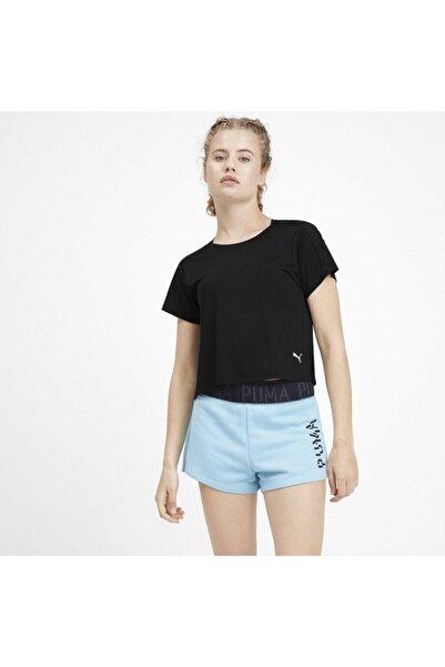 Puma Logo Graphıc Siyah Kadın T-shirt 101119353