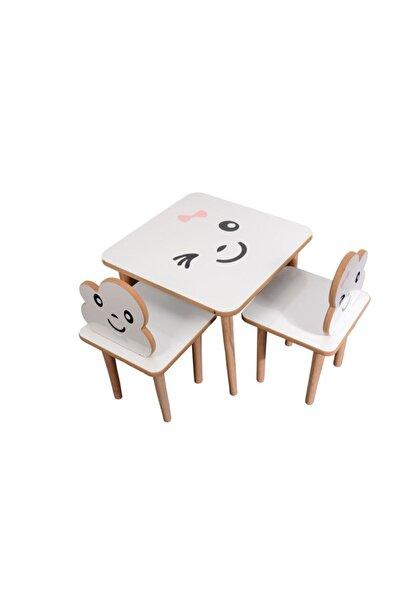 webkapinda Çocuk Masa Sandalye Takımı Aktivite Masası Çocuk Oyun Masası Çalışma Masası Çocuk Sandalyesi
