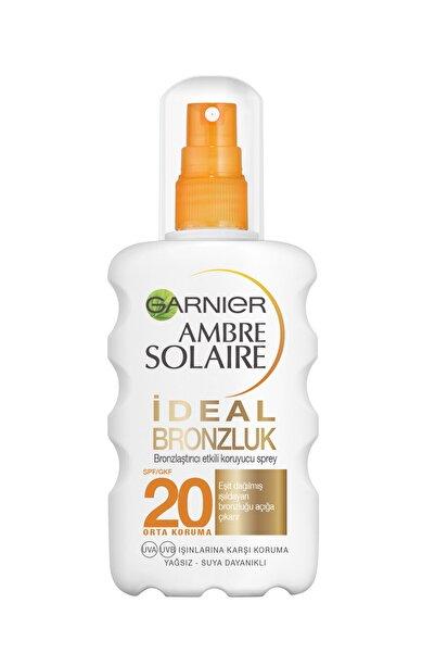 Garnier Ambre Solaire İdeal Bronzlaştırıcı Etkili Güneş Koruyucu Sprey GKF20 200ML