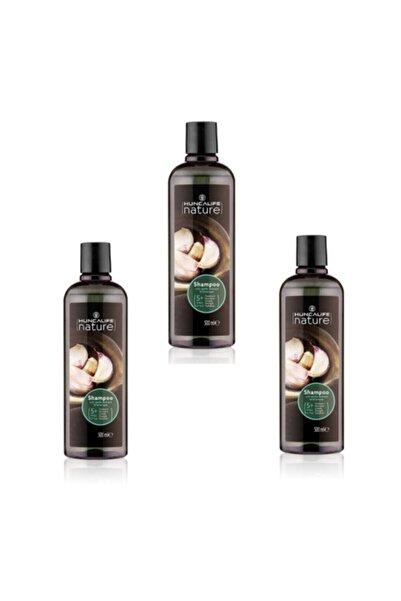 Huncalife Sarımsaklı Şampuan 500 ml 3 Adet Ekonomik Paket