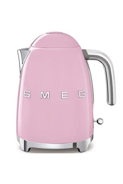 SMEG Klf03pkeu Retro Pembe 2400 Watt 1.7 lt Çelik Kettle Su Isıtıcısı