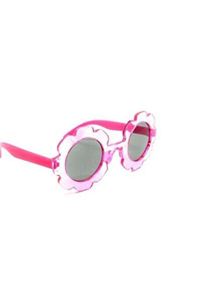 mecca Kız Çocuk Pembe Papatya Güneş Gözlüğü