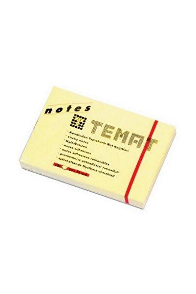 Temat Sarı 50x70 Yapışkanlı Not Kağıdı