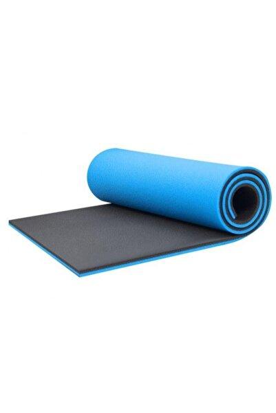 Yukon 16 Mm Çift Taraflı Mavi - Siyah Pilates Matı - Pilates Minderi 180 Cm X 60 Cm X 1,6 Cm