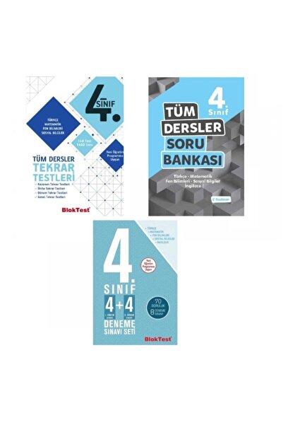 Tudem Yayınları Tudem 4.sınıf Tüm Dersler Soru Bankası+tekrar Testleri + 4x4 Deneme Sınavı Seti