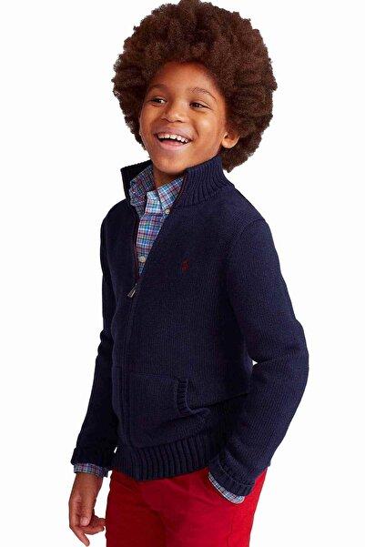 Polo Ralph Lauren Kids Erkek Çocuk Lacivert Triko Ceket