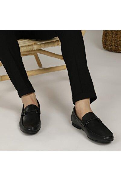Garamond 4245 Siyah Erkek Klasik Ayakkabı