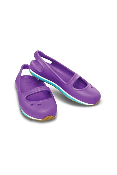 Crocs RETRO MARY JANE Mor Kız Çocuk Sandalet 100528400