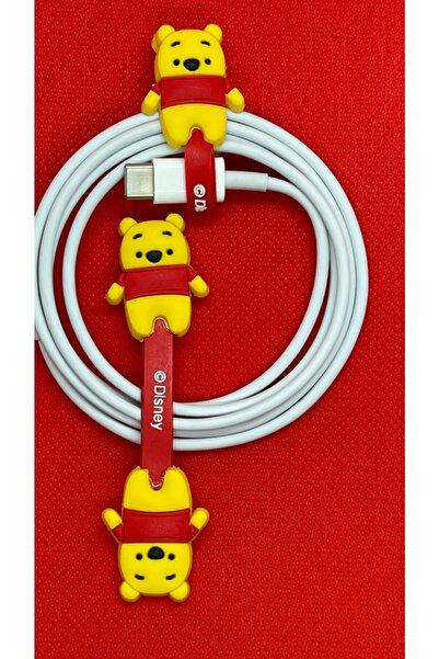 Telehome Sevimli Kablo Toparlayıcı Winnie The Pooh
