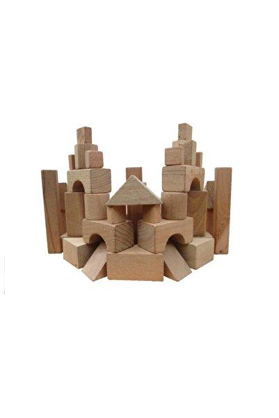 SOYLU Beyin Geliştirici Ve Eğitici Ahşap Yapı Blokları 64 Parça