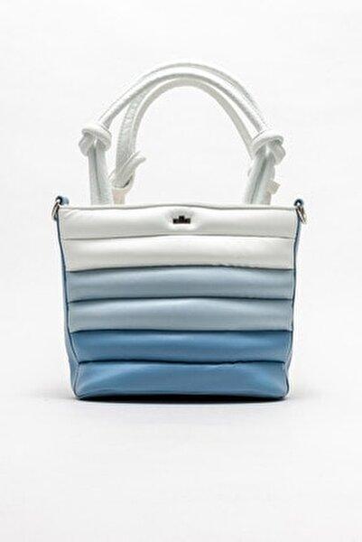 Mavi Kadın El Çantası
