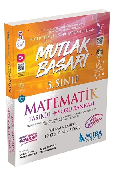 Muba Yayınları 5. Sınıf Matematik Mutlak Başarı Fasikül + Soru Bankası