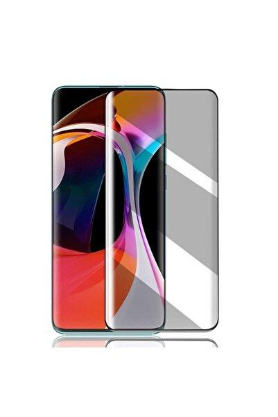 Oppo Fibaks Reno 2z Uyumlu Ekran Koruyucu Temperli Kırılmaz Cam Privacy Hayalet Gizliklik Filtreli