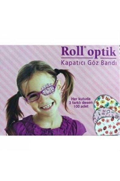 Kurtsan Roll Optik Göz Kapama Bandı 100 Adet Kız Çocuk