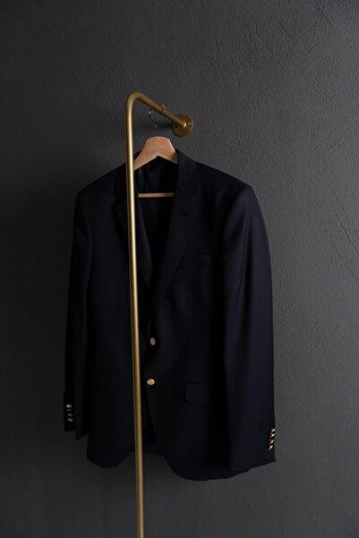 Fec Reklam Gold L Tipi Duvara Monte Konfeksiyon Askılık Elbise