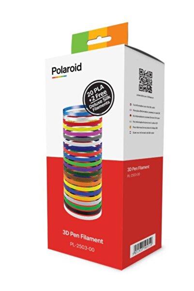 Polaroid Polaroıd 3d Pen Kalem Için Filament Pla (22 Renk X 5m) 1,75mm