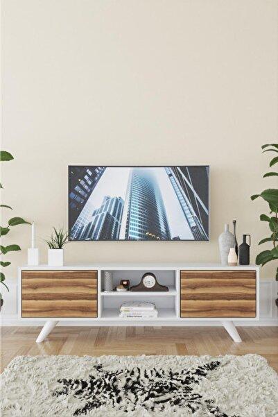 Haus Modüler Haus Romeo Tv Sehpası - Ceviz