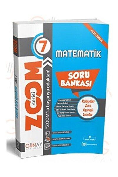 Günay Yayıncılık 7. Sınıf Matematik Zoom Serisi Soru Bankası