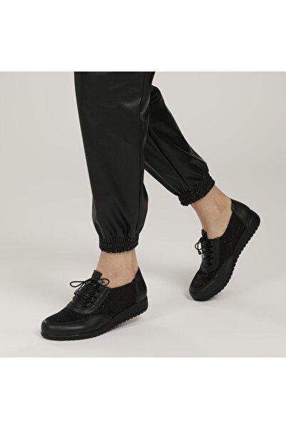 Polaris 161611.ZT1FX Siyah Kadın Comfort Ayakkabı 100979001