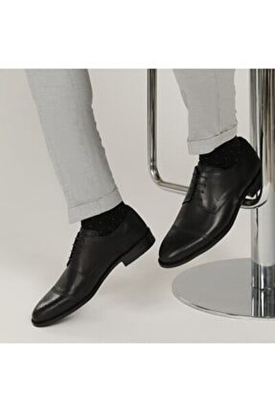 2632 1FX Siyah Erkek Klasik Ayakkabı 101015110