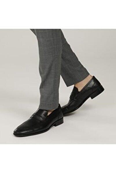 2386-2 1fx Siyah Erkek Klasik Ayakkabı