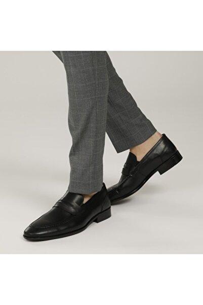 Garamond 2386-2 1fx Siyah Erkek Klasik Ayakkabı