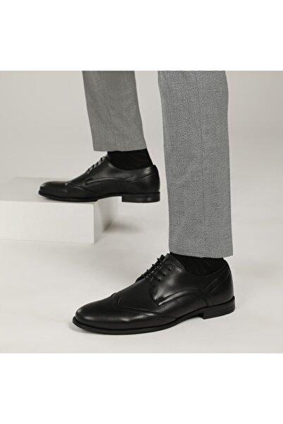 Downtown G-218-2 1FX Siyah Erkek Klasik Ayakkabı 101015554