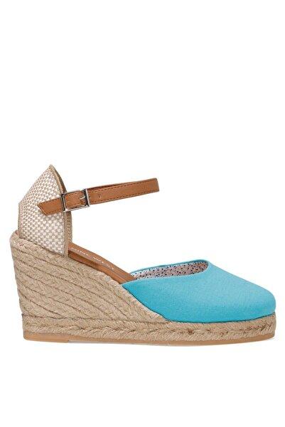 Nine West ARTEMISIA 1FX Mavi Kadın Dolgu Topuklu Sandalet 101029963