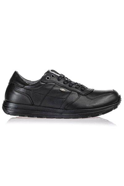 Scooter Su Geçirmez Deri Siyah Erkek Günlük Ayakkabı M5660DS