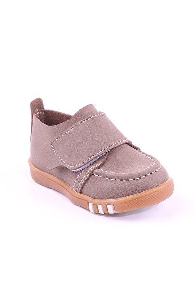 Akıllı Şirin Ortopedik Ilk Adım Erkek Çocuk Mevsimlik Ayakkabı Kahve