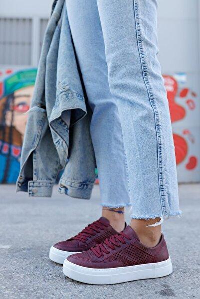 Chekich Ch015 Bt Kadın Ayakkabı Bordo
