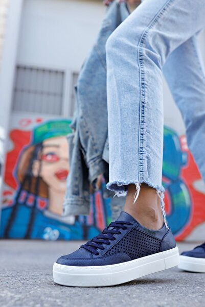 Chekich Ch015 Bt Kadın Ayakkabı Lacivert