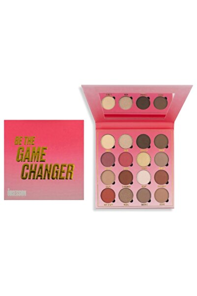 Makeup OBSESSION Far Paleti 16'lı - Makeup Obsession Be The Game Changer Eyeshadow Palette
