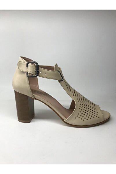 Maje Kadın Bej Ayakkabı