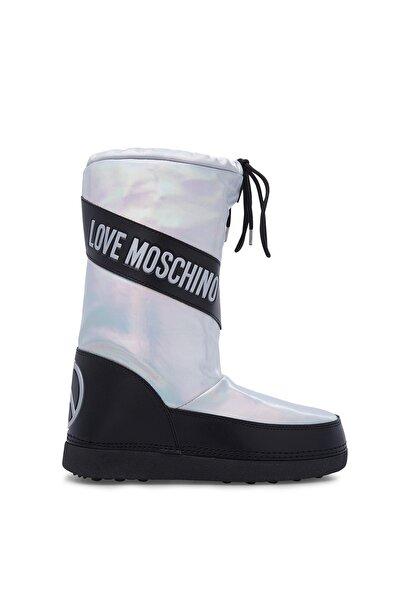 Love Moschino Kadın Gümüş Bot & Bootie JA24012G18IJ0902