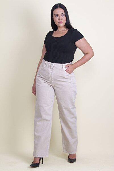 Şans Kadın Taş Rahat Kesim 5 Cepli Kot Pantolon 65N17781