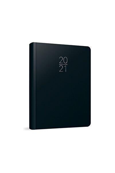 Gıpta 14x20 2021 Günlük Ajanda (100-eck) Siyah